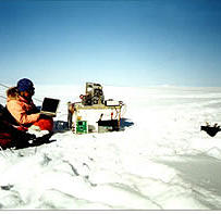 Scott Polar Research Institute and NASA choose Geovista logger for Ice borehole logging.